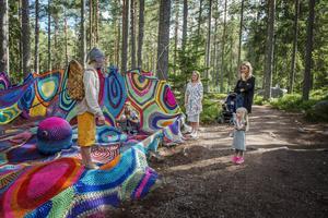 Alicia Pärlefalk fascinerades av alla färger.