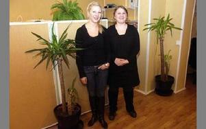 Utellus startades i februari och personalstyrkan har redan fördubblats. Anna Andersson och Emilia Kax är båda från Hedemora från början och har flyttat hem efter att ha bott i bland annat Stockholm.