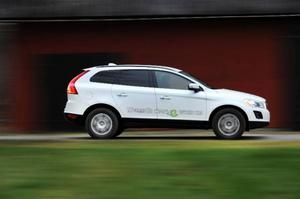 Volvo XC60 Drive är en snål diesel-bil.