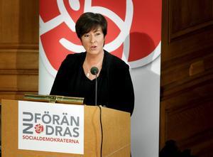Vågade. Som avgående partiordförande kunde Mona Sahlin säga saker som hon inte kunde ha sagt annars. Arkivbild: Sören Andersson/Scanpix