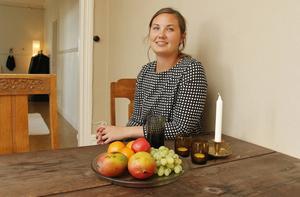 Nu har Olivia Stenberg bott i lägenheten i tre och ett halvt år och stortrivs.