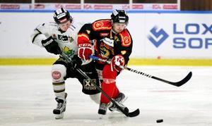 Brunflos finske försvarare Niko Korhonen.