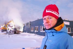 """""""Kallaste dagen på året. Och så händer det här, sa Ulf Jonsson från Körfältet som är en av de två anställda vid Östersunds billackering."""
