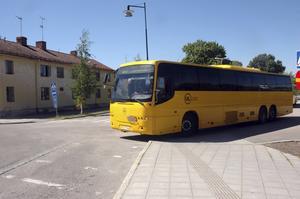 Nu går det inte längre några bussar från Skutskär till Långsand och Gårdsskär under helger. OBS! bilden är tagen i ett annat sammanhang.