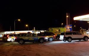 Räddningspådraget var stort efter larmet om skottlossning i Säter på lördagskvällen.