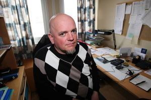 Stefan Ericsson är bedrövad efter natten brand men man hoppas kunna dra igång verksamheten på något sätt under hösten