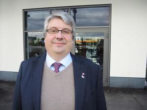 Riksdagsledamot Hans Unander (S).