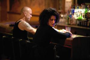 """Sean Penn spelar den övervintrade rockaren Cheyenne som vill hämnas på sin fars fångvaktare i """"This must be the place""""."""
