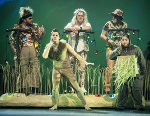 Ur Glada Hudiks Trollkarlen från Oz, där världen är upp och ner.