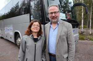 Solveig Harrysson och Roger Karlsson ville komma närmare stugan i Idre och bestämde sig att flytta till Falun från Nyköping.