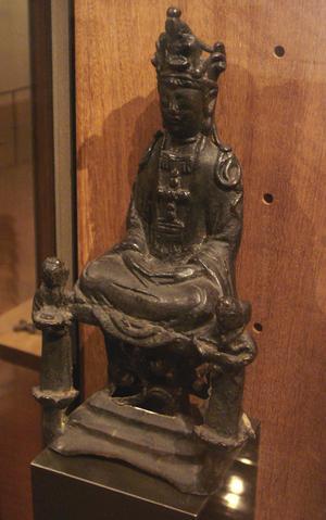 En japansk staty föreställande jungfru Maria från 1600-talet skapad av