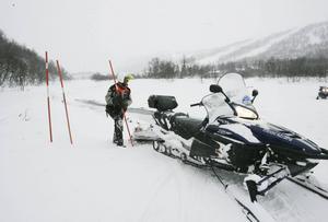 Länsstyrelsen i Jämtlands län meddelar att det råder stora problem att ta sig över Ljusnan på leden mellan Ramundberget och Helags.