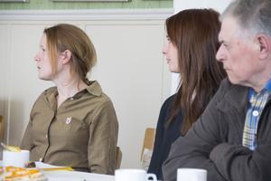 Sara Lindqvist från länsstyrelsen var och besökte Skärså innan beslutet om störningsåtgärder togs.