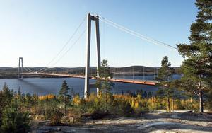 Höga kusten bron.