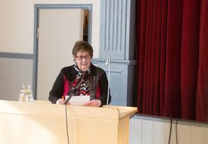 Inger M Eriksson var i måndags tillbaka i kommunfullmäktiges talarstol. Senaste gången var 1997.