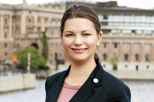 Marta Obminska (M), riksdagsledamot för Uppsala län.