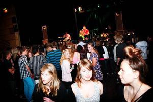 Discot var öppet för alla nior från Östersunds kommun men några elever från grannkommunen Krokom var också med.