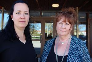 Att dra in på ungdomspoliser sparar kortsiktigt. Men i längden är förebyggande arbete en vinst, säger Ann Fagerberg Embretsén, skolkurator, och Sussi Holm, fritidsledare.