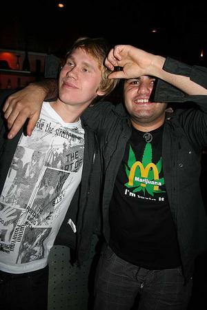 Rock&K Baren. Mattias och Sass