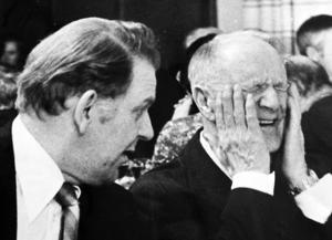 Centerpartiets 70-årsfest med förre partiledaren Gunnar Hedlund.