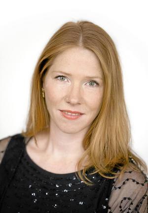 Hedvig Eriksson, sopran, deltar i söndagens konsert i Falu Kristine kyrka.