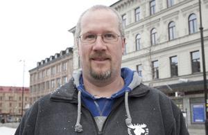 Mikael Vågeteg, ordförande Klockarbergets BK.