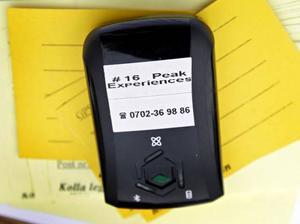 Ett 20–tal Åreturister utrustas dagligen med GPS-sändare.