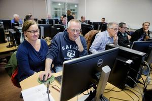 För Inga-Lill och Sture Jansson var det första gången de testade Skogsstyrelsen digitala alternativ.