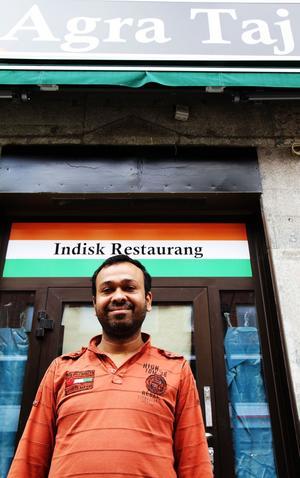 Krognytt. På måndag öppnar den indiska restaurangen Agra Taj i Västerås. Köksmästare är Mohammad Rafiqul Islam.