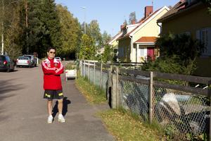 Victor Ormeno har ett sommarhus i Krångede. Han är rädd att den