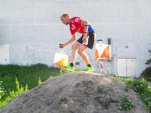 Jesper Lysell knep hem vinsten i DM-sprinten.