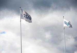 Mörka moln skymtar på SSAB-himlen. Krisen i Europa märks nu i orderböckerna.