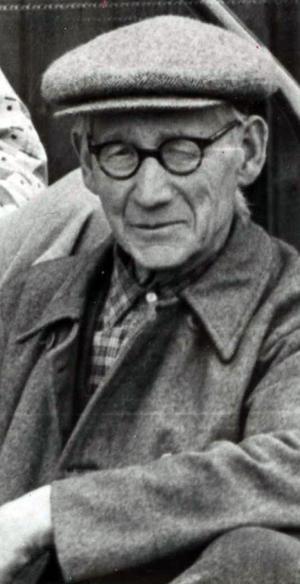 Lars Larsson Lidén ville hjälpa bygdens gamla genom sitt testamente.arkivbild