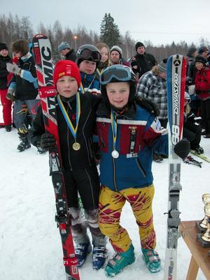 Marcus Norling och Simon Liljedahl kan tänka sig en framtid som alpina proffs.