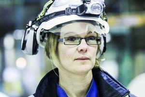 Sofia Strandvall, platschef Kraton Chemical i Sandarne. Foto: Therese Selén.
