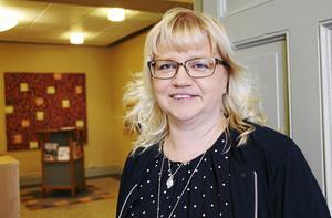 För den styrande majoriteten är företagsklimatet en prioriterad fråga, menar kommunalråd Helene Åkerlind, L.