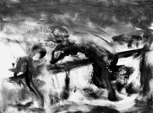 Flitige Pelle Angverts stämningsfulla bilder på Mono är spännande och konsekvent utförda målningar.