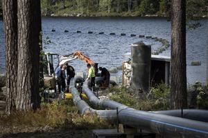 Projektet att bygga en ny vattenledning syftar till att säkra en bra vattenförsörjning i Iggesund även i framtiden.