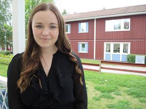 Ann Fröderberg är 19 år och har precis tagit studenten