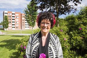 Siv Stenberg har bott i Sundsvall i många år. Nu fyller hon 75 år.