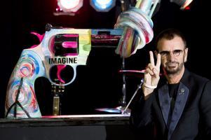 Ringo Starr. Kommer med ny skiva.