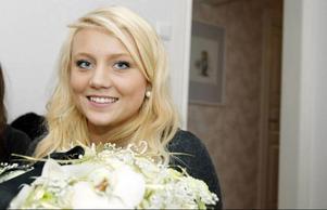 Så var det klart. Anna Sundqvist, 19 år, är länets Lucia 2010.