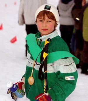 Vinnaren. Walter Bjernulf skidade hem både medalj och krans.Vinnaren. Walter Bjernulf skidade hem både medalj och krans.Foto:ChristianLarsen