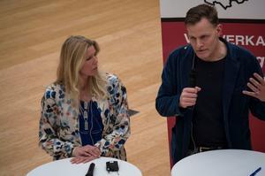 Therese Herkules och Henrik Stub oroas över att många studenter inte delar högskolans demokratiska värdegrund.