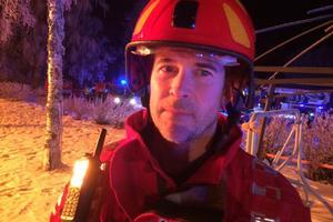 Räddningsledaren Esbjörn Eriksson.