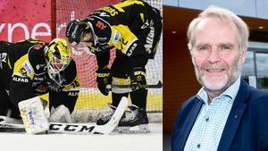 Johan Fägerblad, klubbdirektör för VIK Hockey.