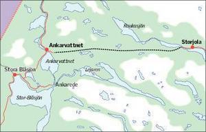 Att kommunen ska verka för en ny väg, mellan Storjola och Ankarvattnet, nämns också i planförslaget. Vägen ska öka tillgängligheten till Frostvikenområdet.