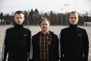Mattias Brunn, Joakim Rindå och Victor Wigardt står bakom