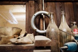 7. Ringen på spiken är troligen en del till ett kajutfönster.