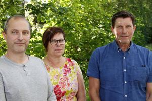 Tor Tolander, Monica Olsson och Stig Eng har inlett processen kring vitesföreläggandet från skolinspektionen.
